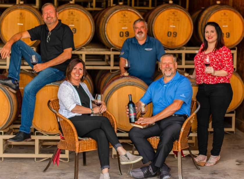 Weatherstation Wine Team with Eric Cook June 2019
